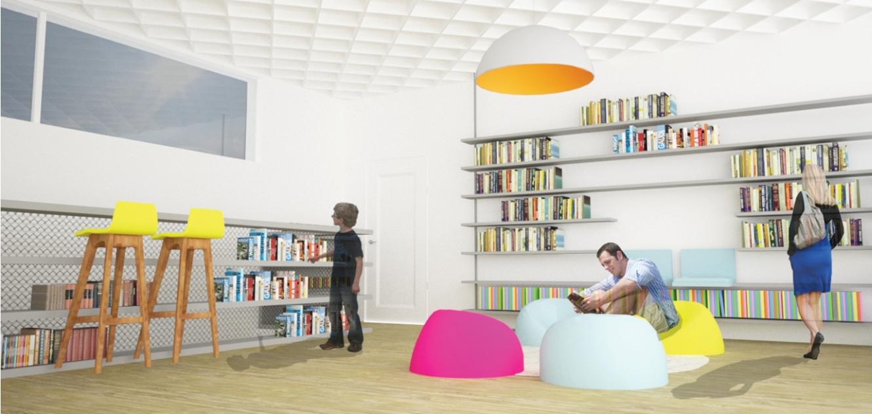 פינת הנוער בספריה